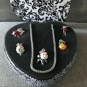 Brighton 5 Piece Charm Your Holidays Gift Necklace